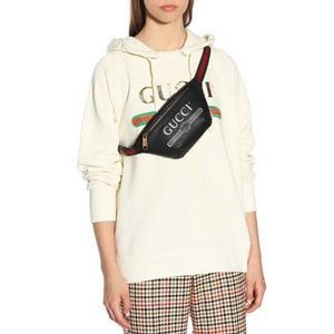 Gucci Unisex's Logo Print belt bag Size 95